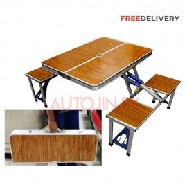 portable folding travel picnic table