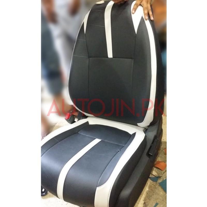 Car Seat Cover Design >> Honda Civic X Design Car Seat Covers For Sedans Black White