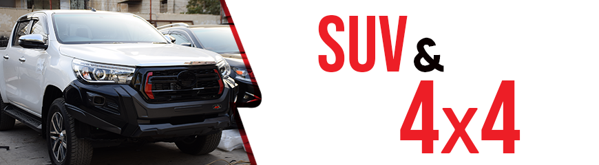 Buy SUV & 4X4 Accessories & Spare Parts in Pakistan.